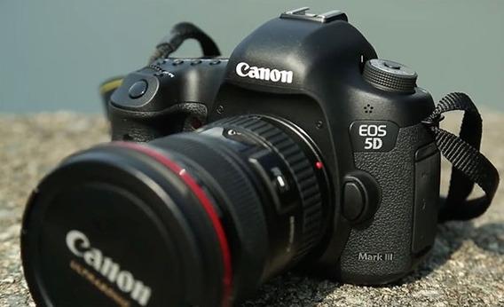Camera Canon Eos 5d Mark Iii + Lente Canon 24-105mm F/4l
