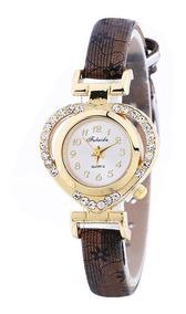 Relógio Feminino Pulseira Coração Moda Fashion Importado