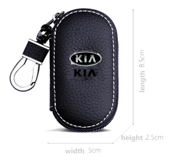 Capa Porta Chave Couro Canivete Presencial Luxo Kia Sportage