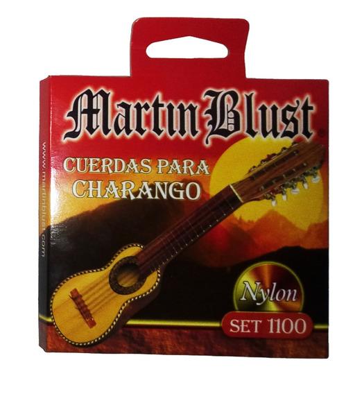 Encordado Charango X10 Cuerdas Martin Blust 1100