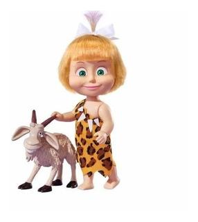 Masha Y El Oso Muñeca Masha 14 Cm Con Animalitos 3 Modelos