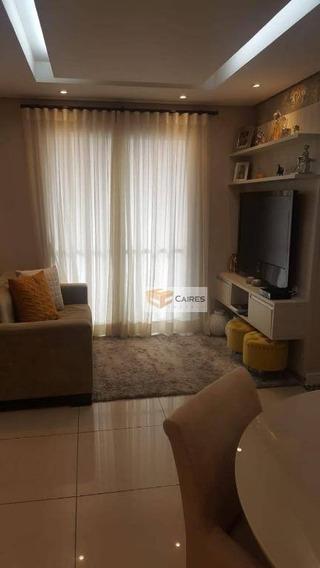 Apartamento Com 2 Dormitórios À Venda, 60 M² Por R$ 500.000,00 - Mansões Santo Antônio - Campinas/sp - Ap7153