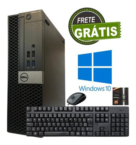 Computador Cpu Dell Mini I5 6ª 4gb Hd 500gb Com Hdmi Usb 3.0