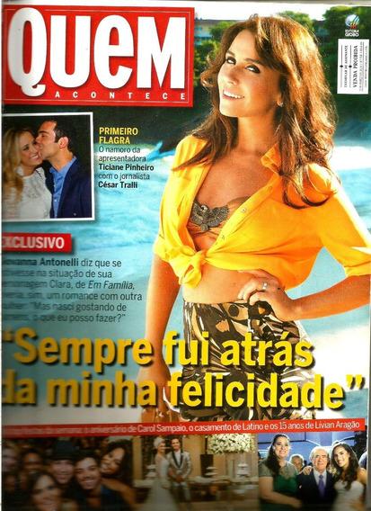 Revista Quem 706/14 - Giovanna/xuxa/rita Lee/marquezine