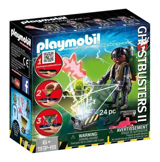 Playmobil 9349 Winston Zeddemore Con Fantasma