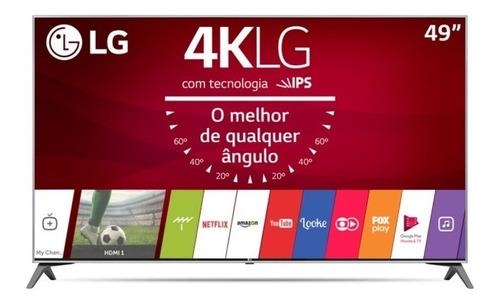 Smart Tv LG 49  Ultra Hd 4k 49uj7500 Harman Kardon Magic