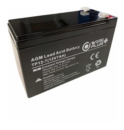 Imagen 1 de 6 de Bateria Pila 12v 7ah Recargable Para Ups Cdp Apc Cerco Moto