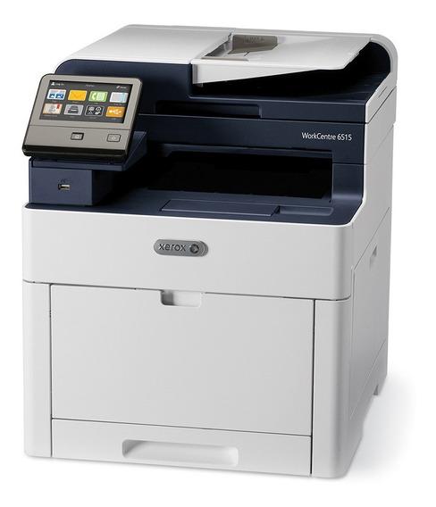 Impresora Multifuncion Laser Color Xerox 6515 Duplex Red Usb