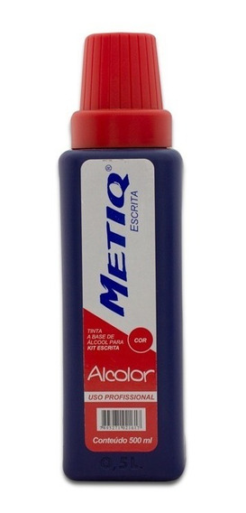 Tinta P/ Cartazes Metiq Alcolor 500ml