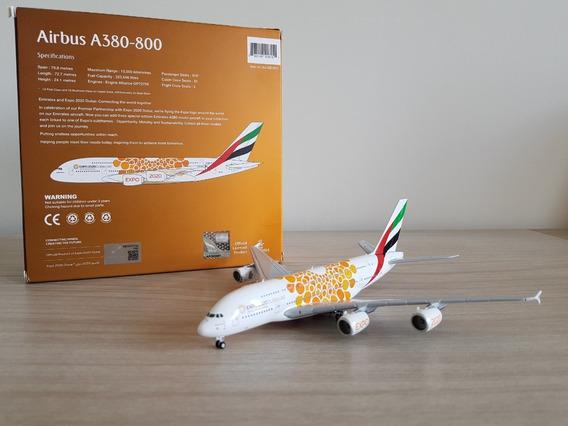 Gemini Jets 1:400 Emirates A380-800 Orange Expo 2020