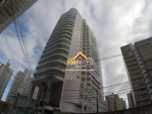Apartamento Com 3 Dormitórios À Venda, 172 M² Por R$ 650.000,00 - Tupi - Praia Grande/sp - Ap1899