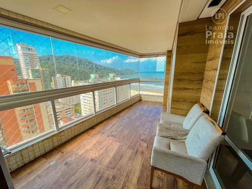 Imagem 1 de 30 de Apartamento 2 Quartos - 93 M² -r$ 690.000 - Forte - Praia Grande/sp - Ap0037