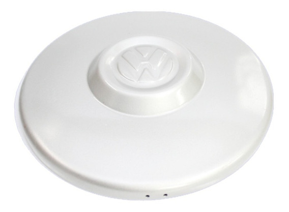 Calota Centro P/ Roda Original Kombi Clipper Plastica Branca