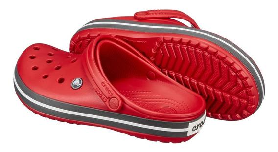 Crocs Crocband Sandalia Origina Cor Pepper Black
