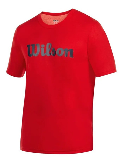 Playera Wilson Roja Hombre Entrenamiento Original