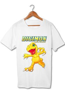 Agumon Digimon Remera Friki Tu Eres #2