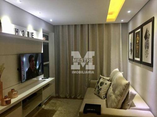Apartamento Com 2 Dormitórios À Venda, 60 M² Por R$ 424.000,02 - Picanco - Guarulhos/sp - Ap2897