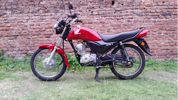 Honda Cb 1 125 Cc. Roja.