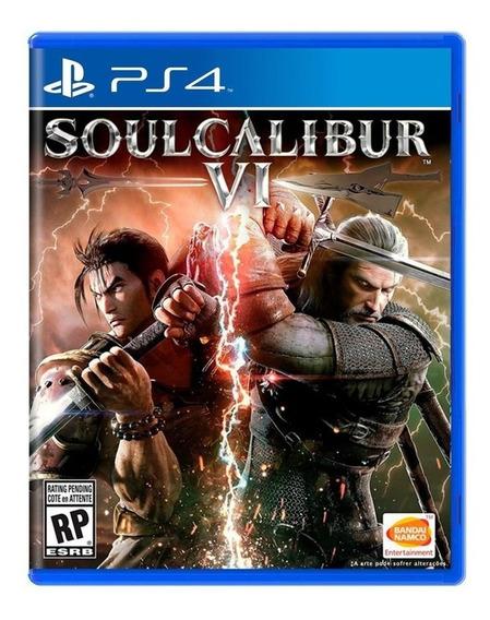 Soulcalibur Vi 6 Ps4 Mídía Física Novo Lacrado