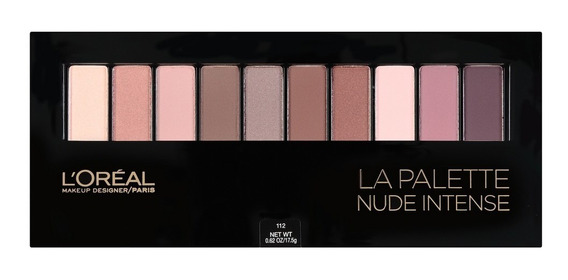 Loreal Paris La Palette Nude Intense Lacrado 17,5g