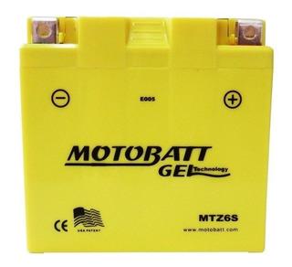 Bateria Gel Motobatt 6 Ah 85cca Mtz6s Cb300r/cg150 Fan/ah10