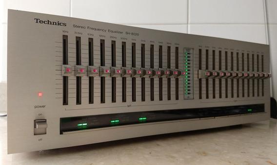 Equalizador Technics Sh-8020, 12 Bandas / Canal