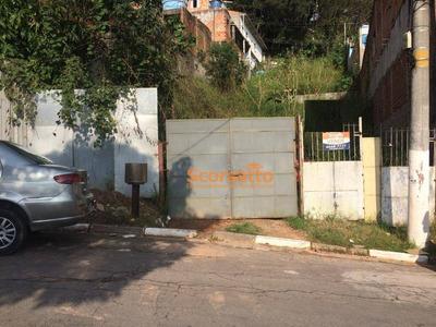 Terreno À Venda, 224 M² Por R$ 220.000 - Parque Paraíso - Itapecerica Da Serra/sp - Te0822
