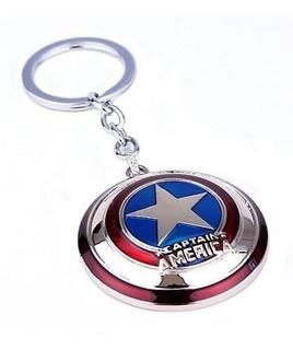Chaveiro Escudo Capitão América Vingadores
