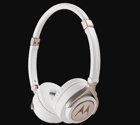 Fone De Ouvido Motorola Pulse 2 Com Microfone Branco