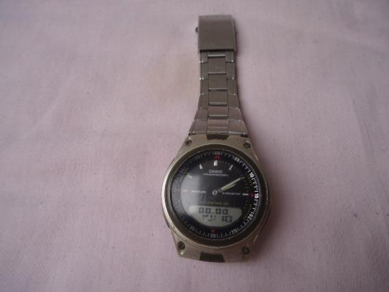 Antigo Relógio Casio Iluminator Aw 80 - Telememo 30 - Func.