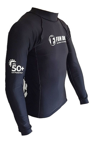 Camisa Lycra Fun Dive Ultra Skin Proteção Uv50+ Camisa Surf