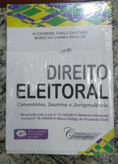Direito Eleitoral Comentários Doutrina E Jurisprudência