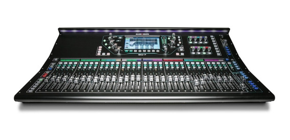 Mesa De Som Mixer Digital Allen & Heath Sq-7 48 Canais