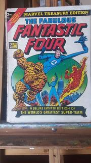 Fantastic Four Capa De Revista Antiga Para Enquadrar, Poster