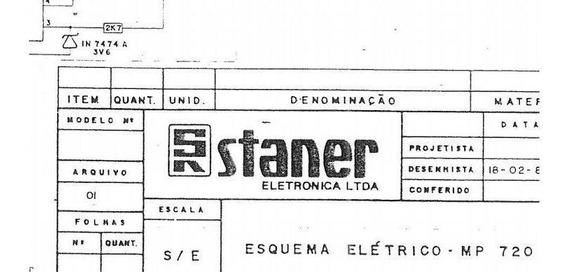 Esquema Elétrico Staner Hx 500a