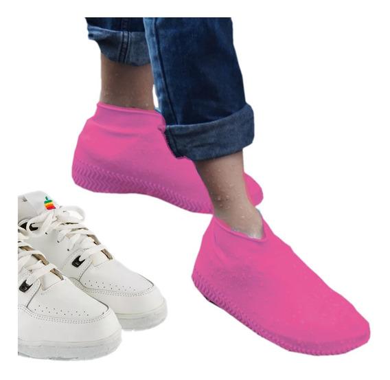 Cubre Lluvia Calzado Tenis Zapato Impermeable Niño Niña