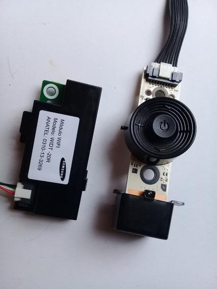 Kit Modem+receptor Controle+ Teclado Tv Samsung Un46f5500ag