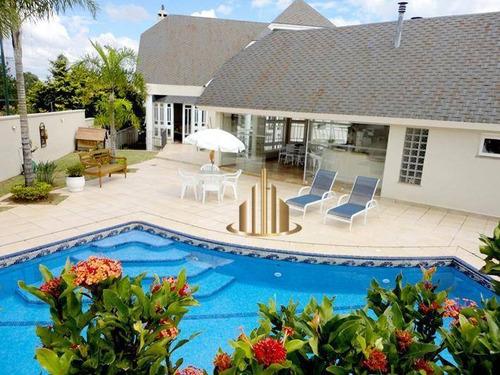 Casa Com 4 Suítes À Venda, 650 M² Por R$ 5.800.000 - Tamboré 03 - Santana De Parnaíba/sp - Ca0971