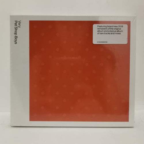 Pet Shop Boys Very / Further Listening 1992-1994 Cd Eu [nuev