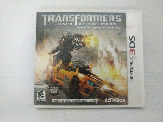 Jogo Nintendo 3ds/xl Transformers Dark Of The Moon