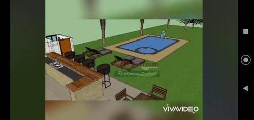 Imagem 1 de 3 de Casa Com 4 Dormitórios À Venda, 300 M² Por R$ 950.000 - Canaã - Jambeiro/sp - Ca5866
