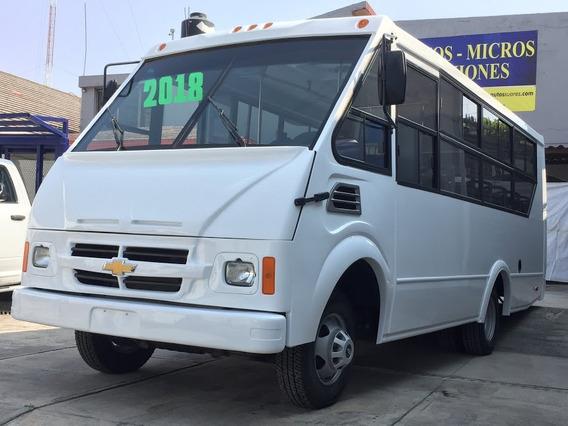 Microbuses Nuevos De 25 A 31 Pasajeros Ford Chevrolet