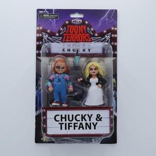 Neca Toony Terrors Chucky & Tiffany 2-pack 6 Inch
