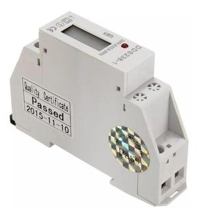 Medidor De Consumo Electrico Digital Hogar Comercio Luz Rdin