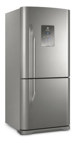 Geladeira/refrigerador 598 Litros 2 Portas Inox - Electrolux - 110v - Db84x