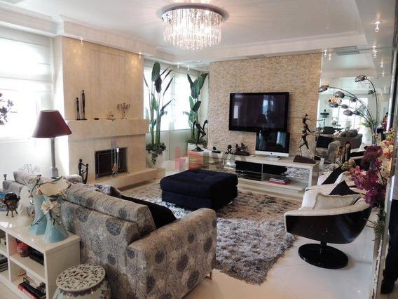 Apartamento Com 4 Dormitórios Para Alugar, 365 M² Por R$ 19.000,00/mês - Vila Mariana - São Paulo/sp - Ap2276
