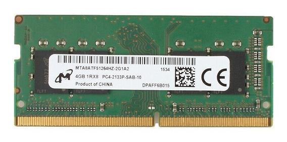 Memória Ram 4gb Micron Notebook Dell Lenovo Hp Acer Note