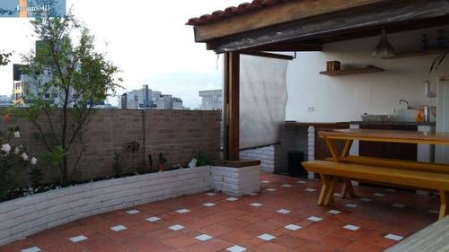 Imagem 1 de 15 de Cobertura Para Venda No Bairro Santa Cecília Em São Paulo - Cod: Pc93907 - Pc93907