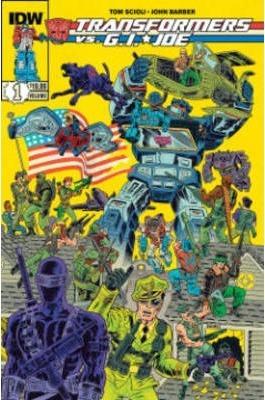 Transformers Vs G.i. Joe Vol  1 + 2