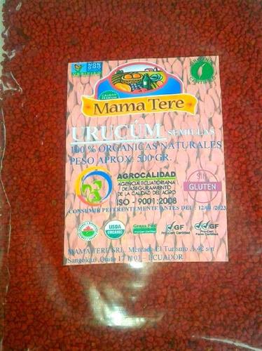 Semillas De Urucúm,500 Gr. ,envio Sin Costo,organico 100%